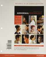 Abnormal Psychology, Books Ala Carte Edition (17th Edition)