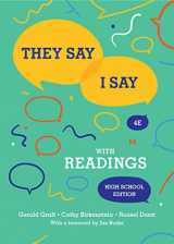 9780393643299-0393643298-They Say / I Say: The Moves That Matter in Academic Writing with Readings (Fourth High School Edition)