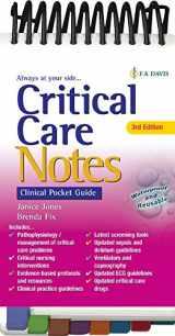 9780803676695-0803676697-Critical Care Notes 3e: Clinical Pocket Guide