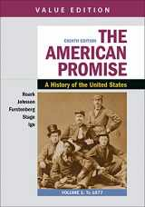 9781319209049-1319209041-The American Promise: A Concise History, Volume 1