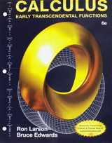 9781305714045-1305714040-CALCULUS: EARLY TRANSCENDENTAL FUNCTIONS,  BY LARS 6 PKG