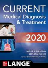 9781260455281-1260455289-CURRENT Medical Diagnosis and Treatment 2020