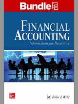9781260260779-1260260771-GEN COMBO LL FINANCIAL ACCOUNTING: INFORMATION FOR DECISIONS; CONNECT AC