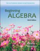 9780073384450-0073384453-Beginning Algebra (Hutchison Series on Mathematics)