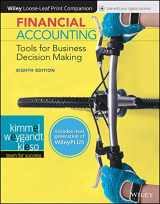 9781119491057-1119491053-Financial Accounting: Tools for Business Decision Making, Eighth Edition WileyPLUS Next Gen Card with Loose-Leaf Print Companion Set