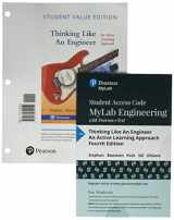 9780134701264-0134701267-Thinking Like an Engineer: An Active Approach, Student Value Edition Plus MyEngineeringLab with Pearson eText -- Access Card Package (4th Edition)