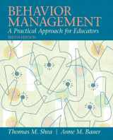 9780137085040-0137085044-Behavior Management: A Practical Approach for Educators (10th Edition)