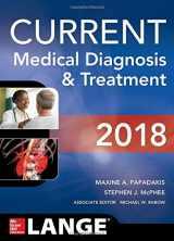 CURRENT Medical Diagnosis and Treatment 2018, 57e