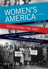 9780199349364-0199349363-Women's America: Refocusing the Past, Volume Two (Volume 2)