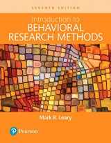 9780134414409-0134414403-INTRO TO BEHAVIORAL RESEARCH METHODS (LOOSE-LEAF)