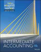 Intermediate Accounting (w/ WileyPlus access card) 16