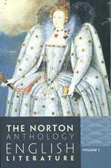 9780393912470-0393912477-The Norton Anthology of English Literature (Ninth Edition)  (Vol. 1)