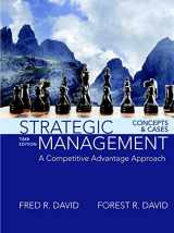9780134167848-0134167848-Strategic Management: A Competitive Advantage Approach, Concepts and Cases