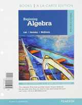 Beginning Algebra, Books a la Carte Edition, Plus MyMathLab -- Access Card Package, 12/e (12th Edition)