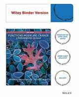 9781119031925-1119031923-Functions Modeling Change: A Preparation for Calculus 5e Binder Ready Version + WileyPLUS Registration Card