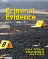 9780190639280-0190639288-Criminal Evidence: An Introduction