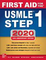 9781260462043-1260462048-First Aid for the USMLE Step 1 2020, Thirtieth edition