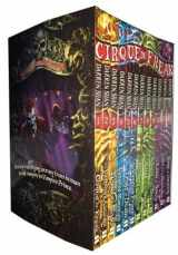 9781608840861-1608840867-Cirque Du Freak Series - Complete 12 Book Collection - Killers of the Dawn, Lord of the Shadows, Trials of Death, Sons of Destiny, Living Nightmare, Vampire's Assistant, Tunnels of Blood, Vampire Prince, Hunters of the Dusk