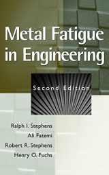 9780471510598-0471510599-Metal Fatigue in Engineering