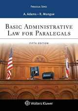 9781454808930-1454808934-Basic Administrative Law for Paralegals (Aspen Paralegal)