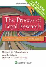 9781454863335-1454863331-The Process of Legal Research: Practices and Resources [Connected Casebook] (Aspen Coursebook)