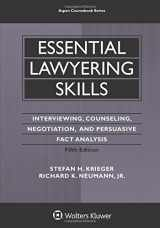 Essential Lawyering Skills (Aspen Coursebook)