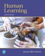 9780134893662-0134893662-Human Learning (8th Edition)