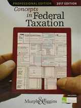 Concepts in Federal Taxation 2017, Professional Edition (with H&R Block(TM) Premium & Business Access Code for Tax Filing Year 2016)