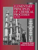 9780471720638-0471720631-Elementary Principles of Chemical Processes, 3rd Edition 2005 Edition Integrated Media and Study Tools, with Student Workbook