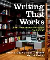 9781319019488-131901948X-Writing That Works: Communicating Effectively on the Job
