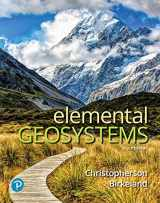 9780134818368-0134818369-Elemental Geosystems Plus MasteringGeography with Pearson eText -- Access Card Package (9th Edition)