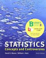 9781319124779-1319124771-Loose-leaf Version for Statistics: Concepts and Controversies 9E & LaunchPad for Moore's Statistics: Concepts and Controversies 9E