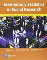 9780134427768-0134427769-Elementary Statistics in Social Research, Updated Edition -- Books a la Carte (12th Edition)