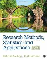 9781506350455-1506350453-Research Methods, Statistics, and Applications