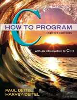9780133976892-0133976890-C How to Program (8th Edition)