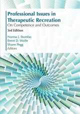 9781571678454-157167845X-Professional Issues in Therapeutic Recreation: On Competencies & Outcomes