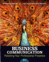 9780133863307-0133863301-Business Communication: Polishing Your Professional Presence (3rd Edition)