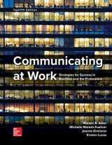 9780078036965-0078036968-Loose Leaf for Communicating at Work
