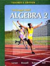 9780618595594-0618595597-Holt McDougal Larson Algebra 2: Teacher's Edition 2007