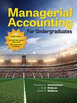 9781618531124-1618531123-Managerial Accounting for Undergraduates