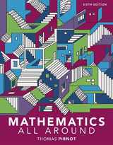 9780134468921-0134468929-Mathematics All Around plus MyLab Math -- Access Card Package (6th Edition)