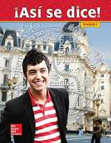 9780021412648-0021412642-Asi Se Dice! Spanish 2