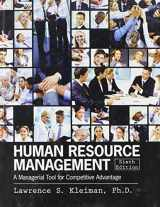 Human Resource Management: A Managerial Tool for Competitive Advantage