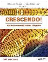 9781119235446-1119235448-Crescendo!: An Intermediate Italian Program (Italian Edition)