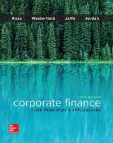 9781259289903-1259289907-Corporate Finance: Core Principles and Applications (Mcgraw-hill Education Series in Finance, Insurance, and Real Estate)