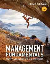 9781506303277-1506303277-Management Fundamentals: Concepts, Applications, and Skill Development