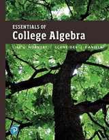 Essentials of College Algebra plus MyMathLab with Pearson eText -- Access Card Package (12th Edition)