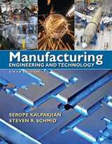 9780136081685-0136081681-Manufacturing Engineering & Technology (6th Edition)