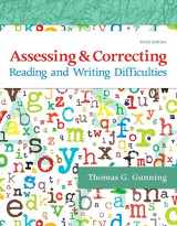 9780134516622-0134516621-Assessing and Correcting Reading and Writing Difficulties (6th Edition)