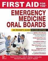 9780071839853-0071839852-First Aid for the Emergency Medicine Oral Boards, Second Edition